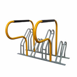 Multiple Bicycle Parking Racks